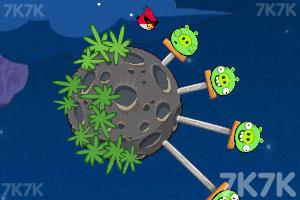 《愤怒的小鸟太空版HD》游戏画面4