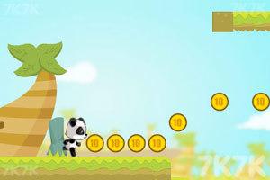 《熊猫吃金币》截图2