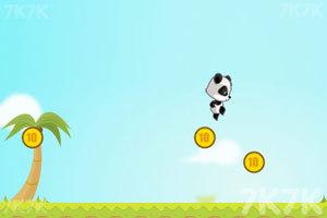 《熊猫吃金币》截图9