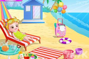《可爱宝贝游沙滩》游戏画面5