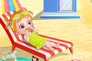 《可爱宝贝游沙滩》游戏画面6