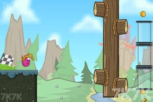 《卷毛球冒险3》游戏画面1