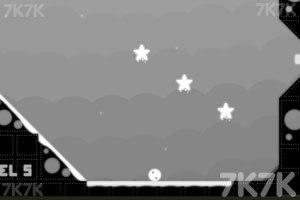 《小白球回家》游戏画面3