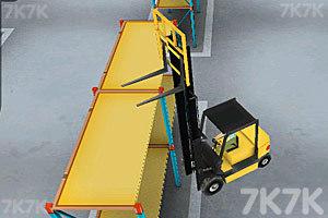 《3D仓库叉车》游戏画面5
