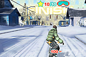 《3D街区滑板》截图6