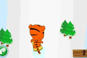《高山速滑》游戏画面1