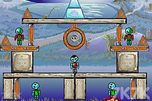 《炸弹埋僵尸》游戏画面1
