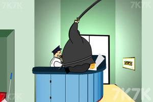 《胖忍者打保安》游戏画面8