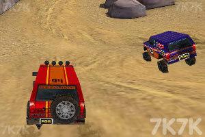 《3D峡谷四驱车》游戏画面7