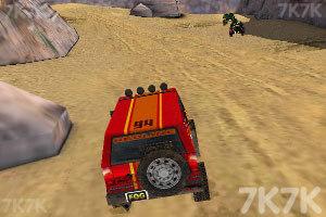 《3D峡谷四驱车》游戏画面5