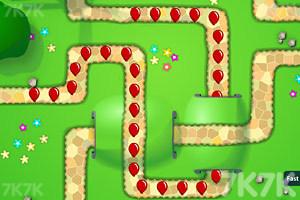 《小猴子守城4V1.26版》游戏画面5