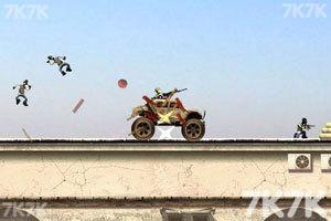 《疯狂战车豪华版》游戏画面2