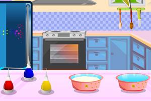 《特色彩虹蛋糕》游戏画面1