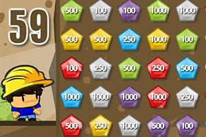 《矿工小子挖宝石》游戏画面1