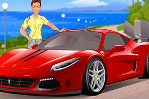 《贾斯丁的跑车》游戏画面1