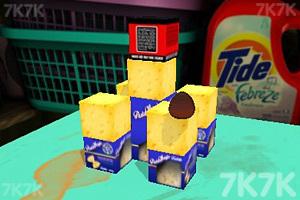 《偷吃桌上的奶酪》游戏画面2