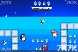 《小企鹅爱吃鱼2无敌版》游戏画面1