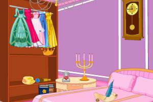 《整理公主城堡房间》游戏画面1