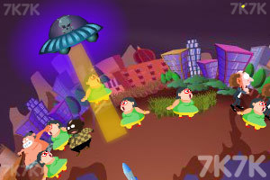《飞碟入侵》游戏画面4