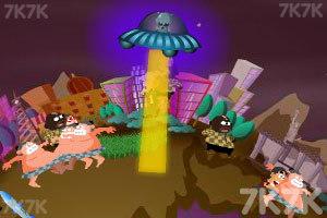 《飞碟入侵》游戏画面1