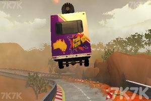 《极速卡车过山车》游戏画面6