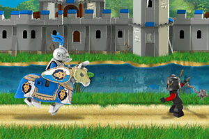 《乐高城堡护卫队》游戏画面1