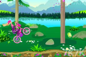 《芭比骑自行车》游戏画面7