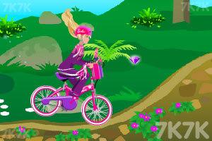 《芭比骑自行车》游戏画面8