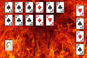 《混乱纸牌接龙》游戏画面1