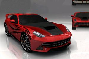 《设计法拉利F12》游戏画面1