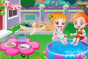 《可爱宝贝救金鱼》游戏画面2