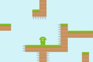 《小绿人回家2》游戏画面1