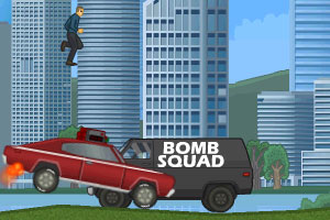 《爆破驾驶无敌版》游戏画面1