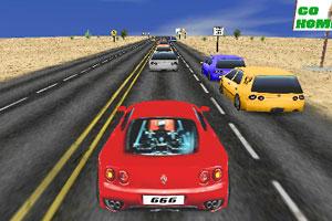 《高速公路亡命赛》游戏画面1