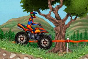 《越野摩托车试驾2无敌版》游戏画面1