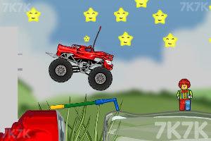 《玩具卡车破坏之路》游戏画面10