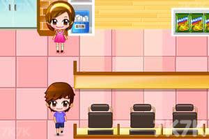 《可爱美眉开网吧》游戏画面4