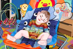 《睡觉的宝贝》游戏画面1