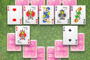 《伯爵夫人城堡接龙》游戏画面1