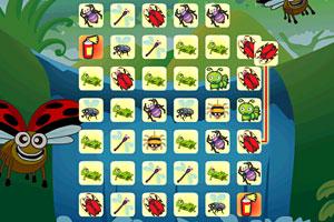 《昆虫连连看》游戏画面1