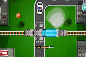 《警车的生死时速》游戏画面1