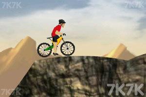 《山地自行车挑战赛》游戏画面1
