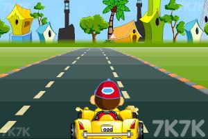《卡通跑车计时赛》游戏画面8