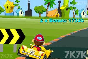《卡通跑车计时赛》游戏画面4