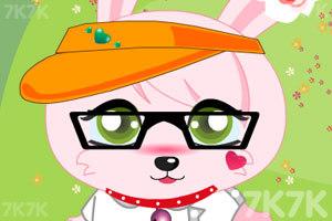《粉红兔兔换装》游戏画面3