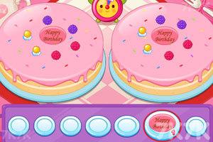 《阿sue做蛋糕》游戏画面1