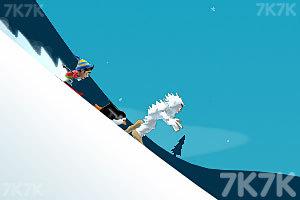 《滑雪大冒险电脑版》游戏画面3