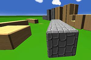 《3D积木世界》游戏画面1