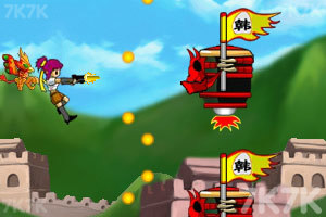 《空中四斗士》游戏画面3