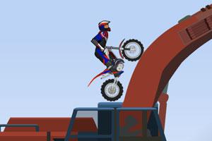 《极品越野摩托2选关版》游戏画面1